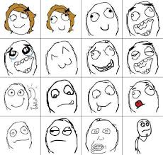 meme cartoon faces brushes set free photoshop