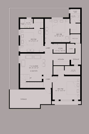 house floor plan by 360 design estate 10 marla house