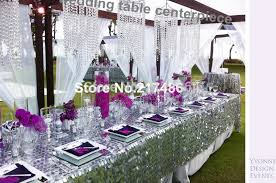 aliexpress com crystal table top chandelier centerpieces for weddings table whole from reliable