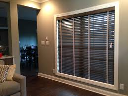 wood blinds with cloth tape in clarksville