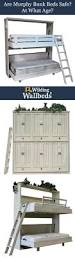 Twin Bunk Murphy Bed Kit Folding Bunk Bed Hardware Folding Wall Bunk Bed Plans Furthermore