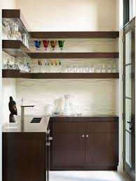 back bar cabinets with sink brown contemporary kitchen bar shelves for glasses also small