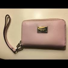light pink michael kors wristlet buy michael kors light pink wallet off64 discounted
