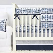 nursery beddings navy blue and gray crib bedding with navy and