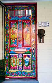 Painting Exterior Doors Ideas Door Painting Best 25 Painted Doors Ideas On Pinterest Painted