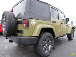 2013 commando green jeep wrangler unlimited oscar mike freedom