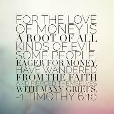 5 bible verses money christian