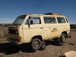 volkswagen bus 2014 junkyard find 1981 volkswagen vanagon westfalia camper type p22