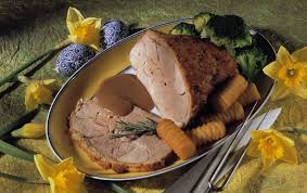 roast leg of lamb with roquefort crust recipe eat smarter usa