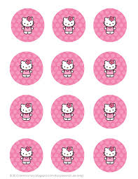 hello cupcake toppers all things simple simple celebrations hello party printables