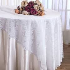 cheap lace overlays tables 108 round lace table overlays white 90801 1pc pk cc s wedding