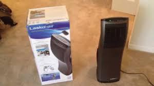 tower fan with air purifier lasko tower fan c27100 youtube