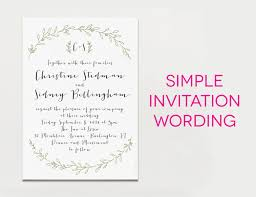 wedding ceremony invitation wording wedding invitation wording creative and traditional a practical