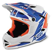 blue motocross helmet answer youth faze bike helmet jafrum