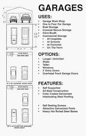 3 Car Garage Dimensions 1 Car Garage Door Size Wageuzi