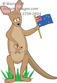 k is for kangaroo letters of the animal alphabet clip art