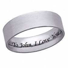 mens stainless steel rings personalized men s stainless steel ring walmart