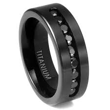 black titanium wedding bands for men mens titanium wedding ring diamond the benefits of choosing