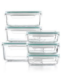 martha stewart collection 12 glass food storage container