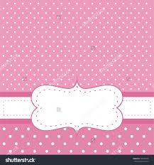 Size Invitation Card Wallpaper Pink Vector Invitation Card For Baby Shower Wedding Or