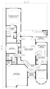 Bi Level Floor Plans With Attached Garage by European Tudor House Plans Home Design 153 1750 The Plan