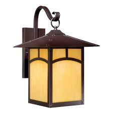 mission style outdoor wall light rounded mission 11 inch outdoor wall l espresso bronze