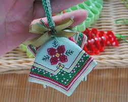 ornaments embroidered decor