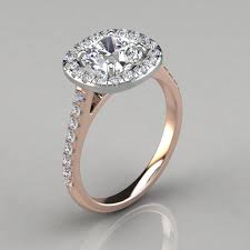 gold cushion cut engagement rings floating halo cushion cut gold engagement ring puregemsjewels