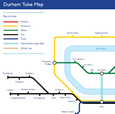 Colleges In Virginia Map by The Durham Tube Map From Chad U0027s Can Now Be Purchased In Poster Form