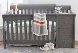 Baby Crib With Changing Table Sorelle Princeton Elite 4 In 1 Convertible Crib And Changer