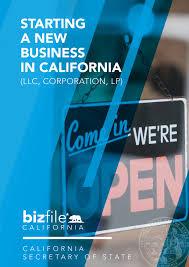 Essentials For A New Home Starting A Business Checklist California Secretary Of State