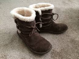 s ugg australia brown emalie boots ugg brown boots size 7 gently worn fashion brown