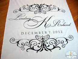 Personalized Aisle Runner Aisle Paint For You Classic Custom Aisle Runner With Detailed Ends