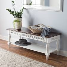 Antique Foyer Bench L Shaped Corner Mudroom Bench With Shoes Rack Also Coat Hook And