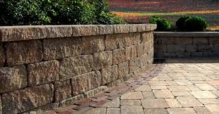 estate landscape wall concrete wall blocks garden walls ma