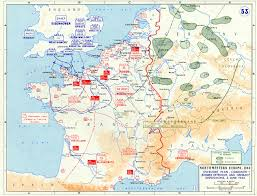 Map Of Europe Ww2 by Overlord Plan Combined Bomber Offensive And German Dispositions