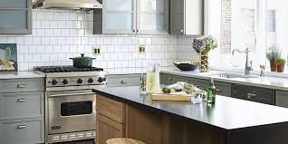 kitchen backsplash tiny kitchen ideas glass tile backsplash