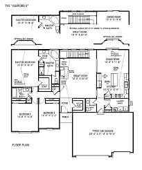custom built home floor plans custom home building the ashford ii st louis mo