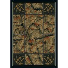 united weavers antler camo area rug 5 u00273
