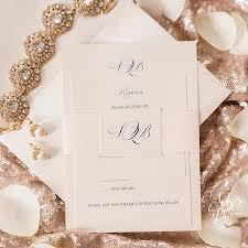 monogram wedding invitations brendan s traditional monogram wedding invitation suite