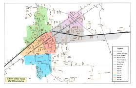 Texas Precinct Map Ward Boundary Map