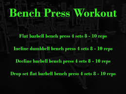 bench routines chest bench press workout beginner workout routines