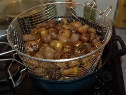 cuisiner marrons frais recette marrons glacés cuisinez marrons glacés
