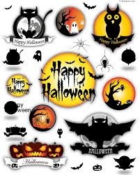 happy halloween vector 4 designer happy halloween design element vector material