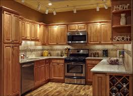 kitchen paint colors for small kitchens with oak cabinets black