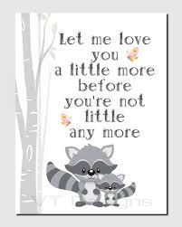Raccoon Nursery Decor Raccoon Nursery Decor Woodland Animals Nursery Decor Baby