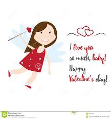 valentine day cupid angels cartoon style vector stock vector