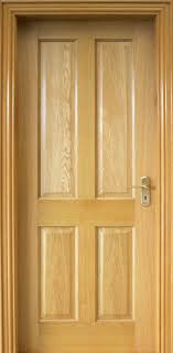 Oak Interior Doors 4 Panel White Oak Door 40mm Doors Oak Doors
