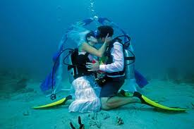 underwater wedding how to wed underwater dive in - Underwater Wedding