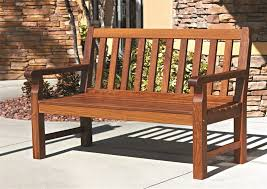 wood outdoor furniture bench long chair for hardwood patio furniture